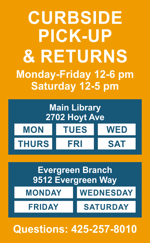 The Library started Curbside Pickup service for you to pickup materials from the library.
